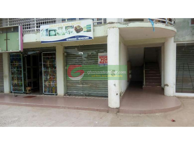 One shop is for rent at Spintex community 18 road . - 1