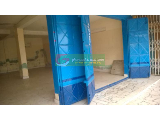 FOR RENT: Big Shop on Ground Floor along main road in NUNGUA - 1