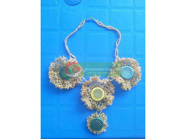 Beaded necklace - 1