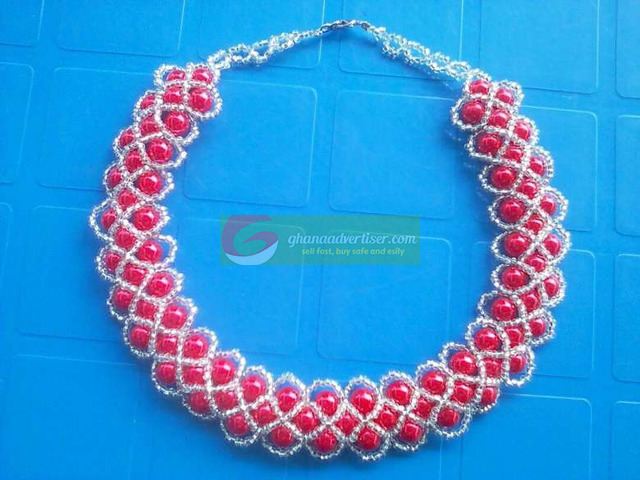 Beaded necklace - 2