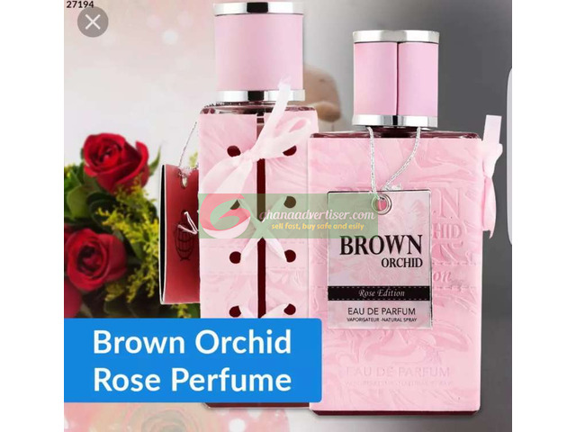 BROWN ORCHID ROSE PERFUME - 1