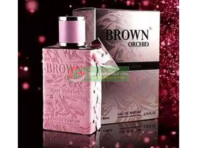 BROWN ORCHID ROSE PERFUME - 2