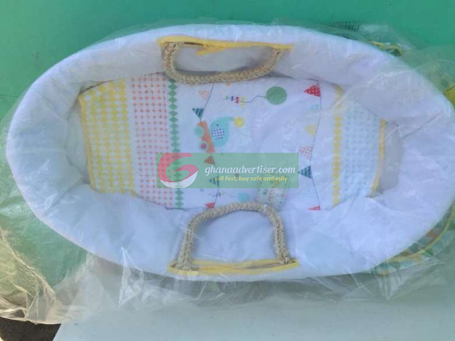 Baby Moses basket,wash basin & baby trolley in stock - 3
