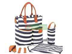 Designer Stylish Canvas Diaper Bag
