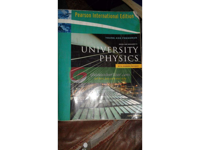 University Physics textbook ed 12 - 1