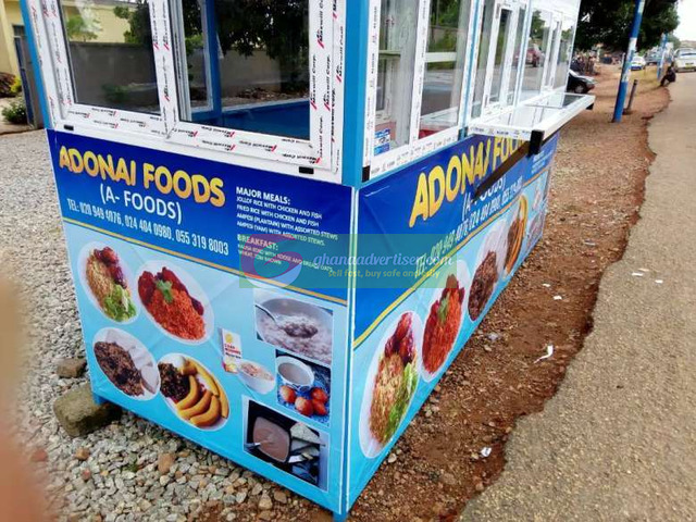 Brand New Food Joint Container - 2