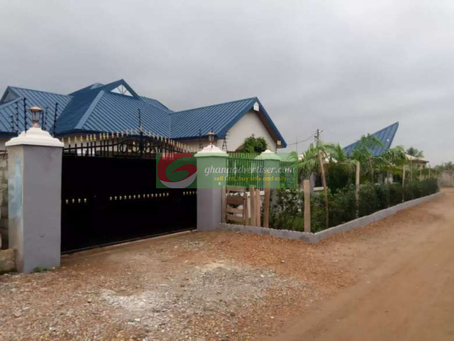 House for sale @ Afienya New Land - 4