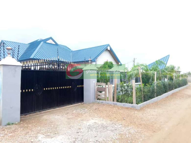 House for sale @ Afienya New Land - 5