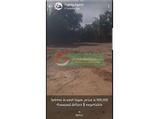 Acres of land at North Legon for sale at affordable - 1