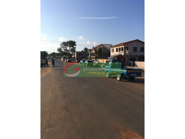 Land for sale at teshie lekma main road call now - 1