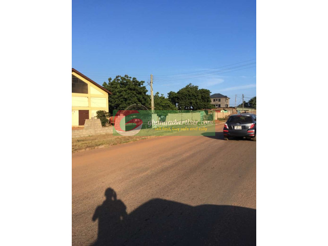 One and half plot for sale at east legon close to A n C shop - 1