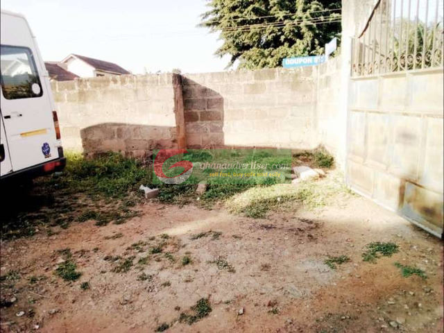 One and half plot for sale at east legon close to A n C shop - 2