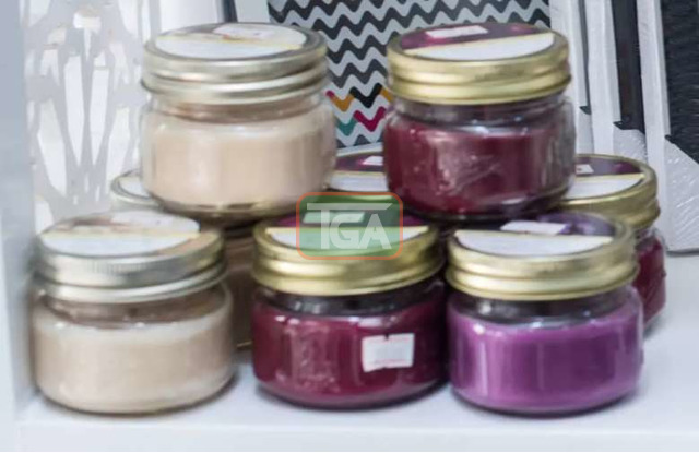Scented candle in a jar - 1