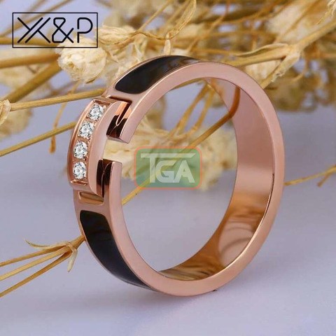 Rose Gold Promise Ring - 2