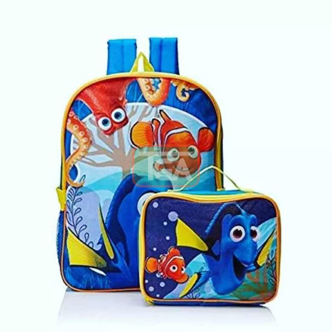 Kids Backpack With Lunch Bag - 1