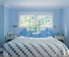 Sweet, quality sky blue foreign paint to make your room look