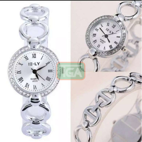 Silver watch for sale - 1