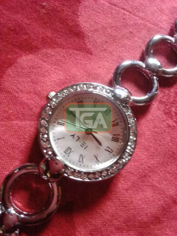 Silver watch for sale - 2