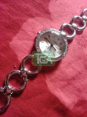 Silver watch for sale - 3