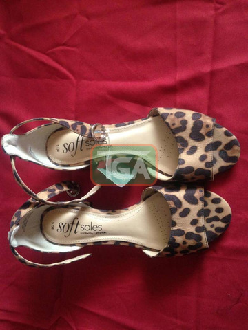 Comfort by George heeled sandals - 1