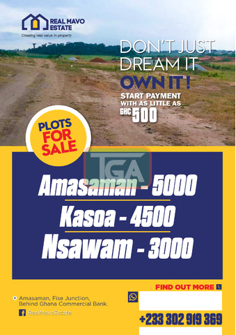 Land For Sale (GH 5,000) - 2