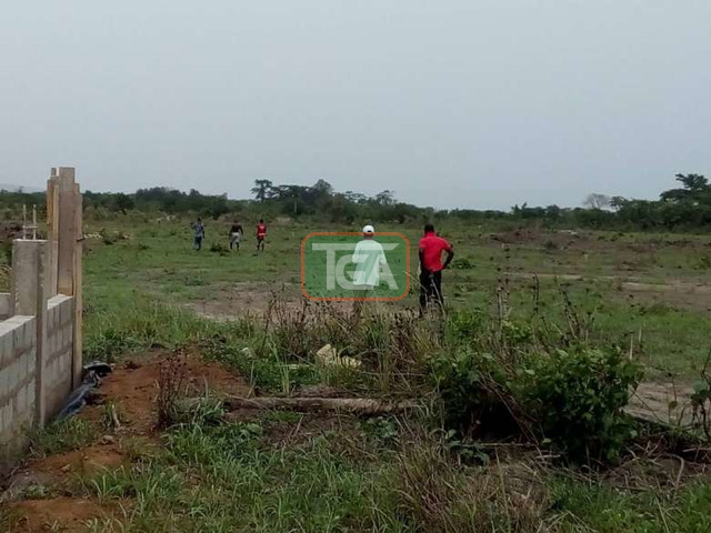2 plots of land for sale at amasaman 14,000ghc, - 4