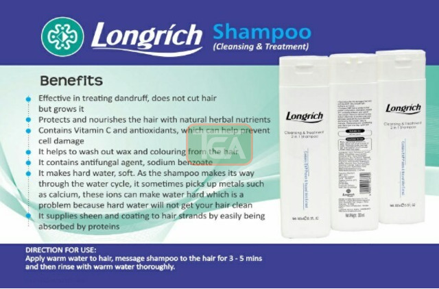 Longrich Cleansing Treatment 2 in 1 Shampoo - 2