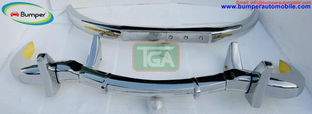 Mercedes 300SL bumper (1957-1963) by stainless steel - 1