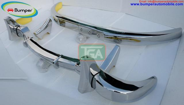 Mercedes 300SL bumper (1957-1963) by stainless steel - 4