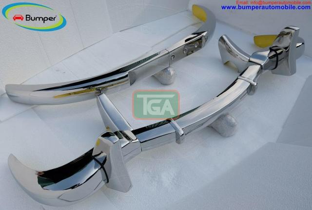 Mercedes 300SL bumper (1957-1963) by stainless steel - 5