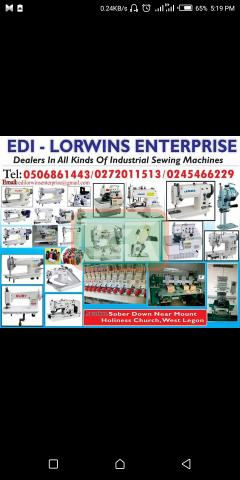Brand new industrial sewing machines - 1