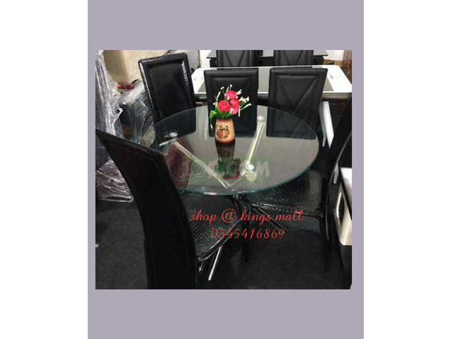 3 Seaters Dining Tables and Chairs - 1