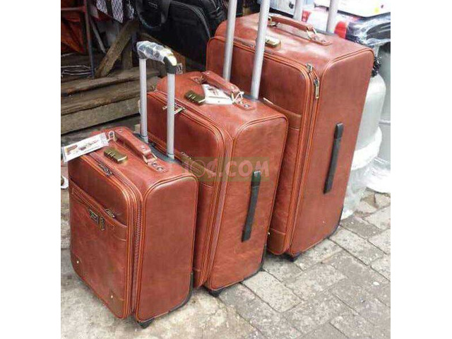 Leather Suitcase - 1