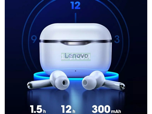 Original lenovo bluetooth Earbuds - 5
