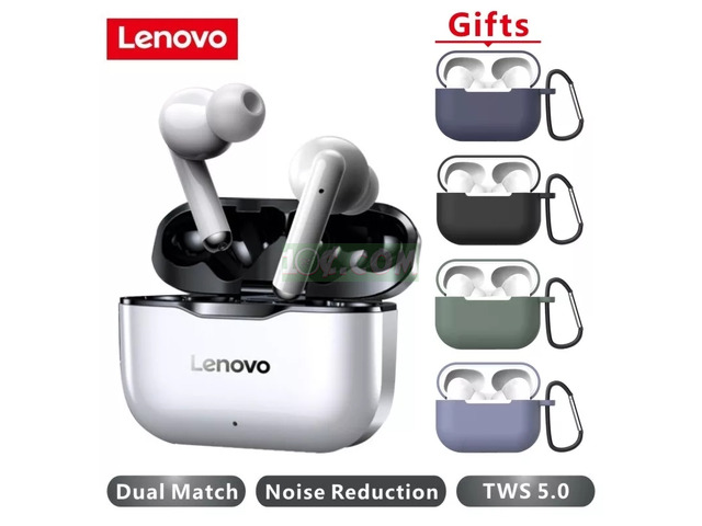 Original lenovo bluetooth Earbuds - 6