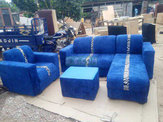 L Shape Sofa. Free Delivery with Kumasi - 1