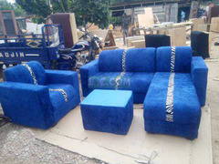 L Shape Sofa. Free Delivery with Kumasi