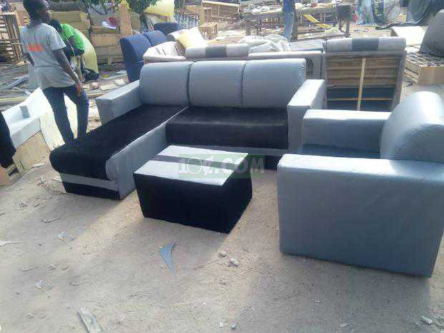 L Shape Sofa. Free Delivery with Kumasi - 2