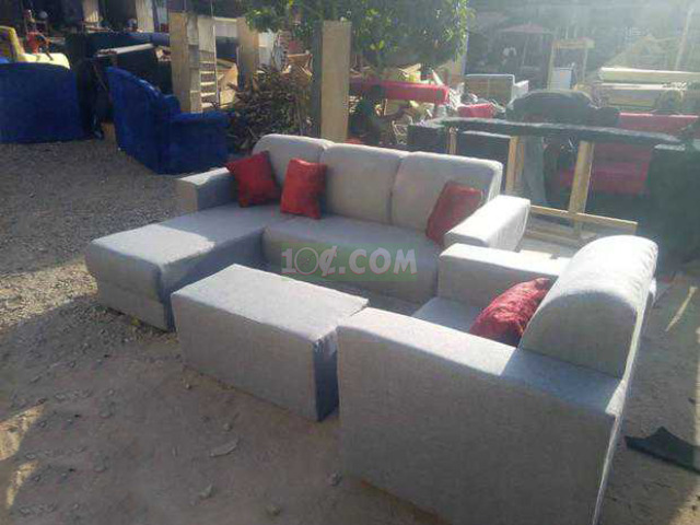 L Shape Sofa. Free Delivery with Kumasi - 3
