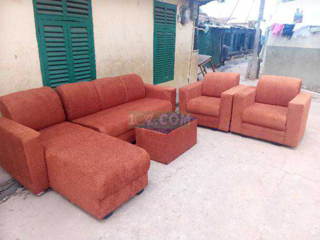 L Shape Sofa. Free Delivery with Kumasi - 4