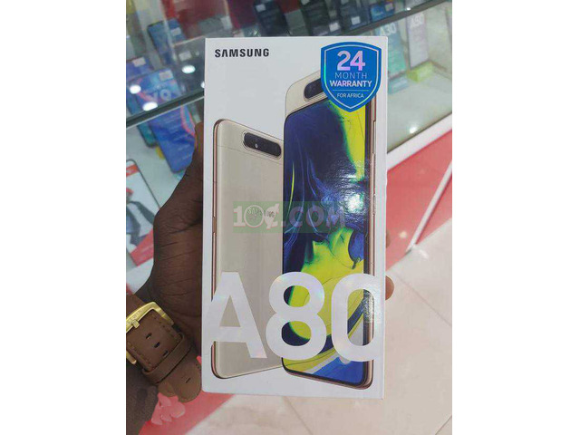 New Samsung Galaxy A80 128GB White - 2