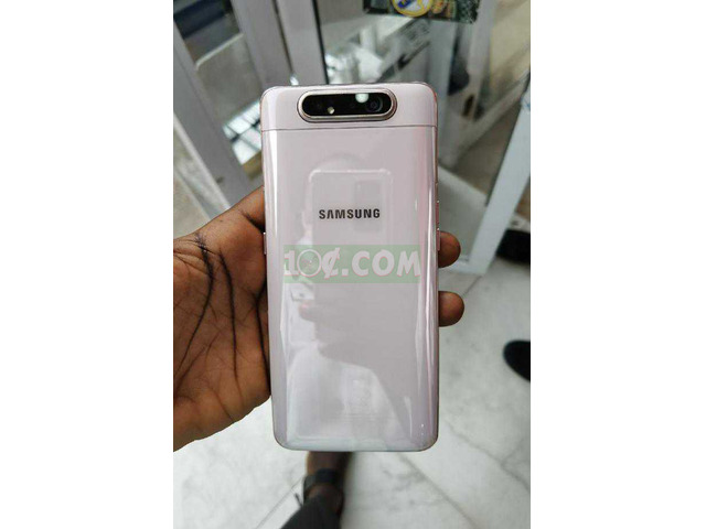 New Samsung Galaxy A80 128GB White - 3