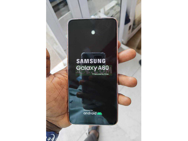 New Samsung Galaxy A80 128GB White - 5