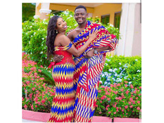 Sir John Kente Clothes