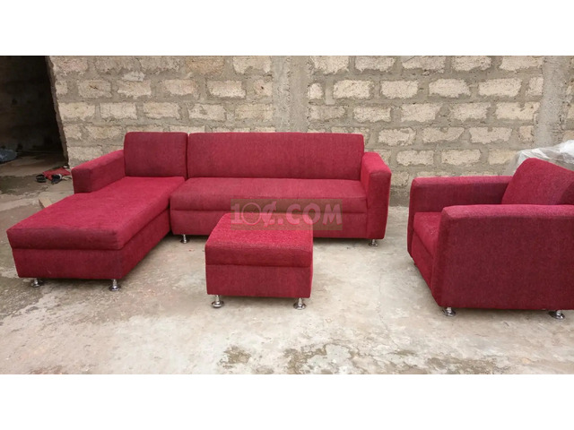 New Sofa Red - 1
