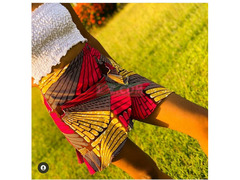 The Araba wrap skirt