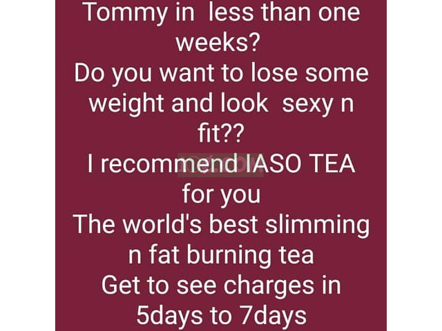 IASO TEA FOR FLAT TOMMY N WEIGHT LOSE - 3