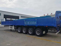 3 Axles Side Wall Semi Trailer