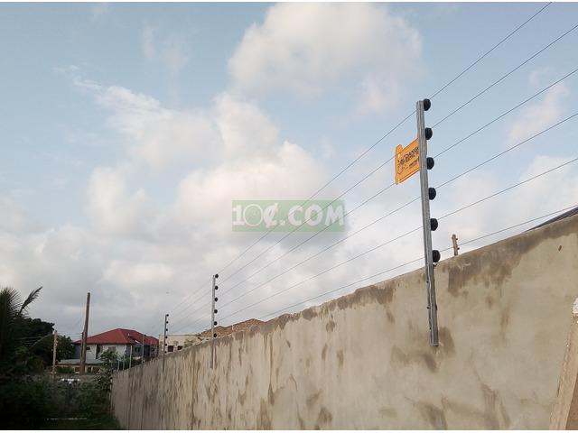 Electric fence installation - 1