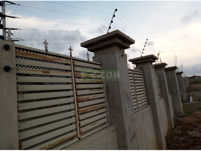 Electric fence installation - 6